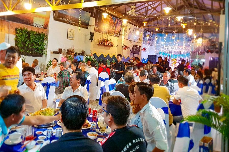 Say mê với dịch vụ tổ chức party hoành tráng Hai Thụy catering