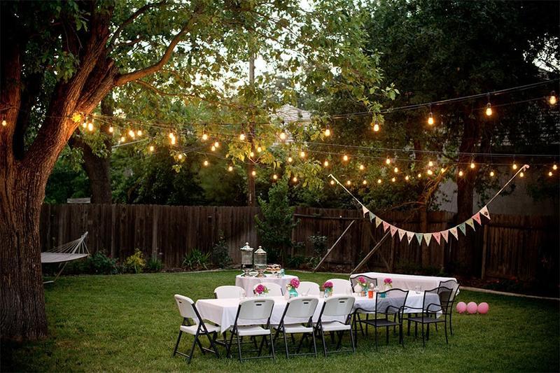 Đừng bỏ qua những ý tưởng này nếu bạn muốn tổ chức tiệc sinh nhật ngoài trời thật độc đáo