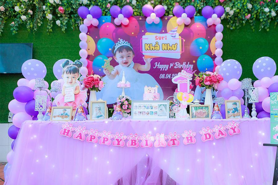 Gợi ý cách trang trí cực lý tưởng khi tổ chức tiệc sinh nhật cho bé yêu